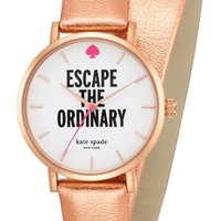 kate spade new york 'metro - call to action' double wrap watch, 34mm | Nordstrom