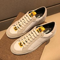 Boys & Men Off White Fashion Casual Sneakers Sport Shoes