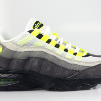 Nike Big Kid's Air Max 95 GS Premium OG Neon