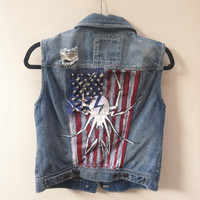 My Chemical Romance Danger Days Denim Vest