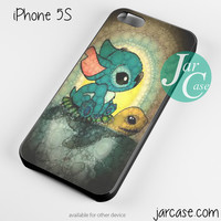 sticth and the turtle Phone case for iPhone 4/4s/5/5c/5s/6/6 plus
