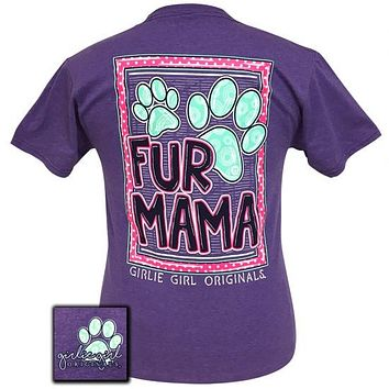 Girlie Girl Originals Preppy Fur Mama T-Shirt