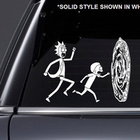 Rick and Morty Portal Inspired Vinyl Decal