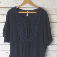 Marlena Crochet Top