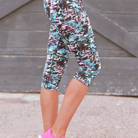 Can't Stop, Won't Stop Athletic Crop Pants