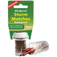 Wind/Water-Proof Storm Matches