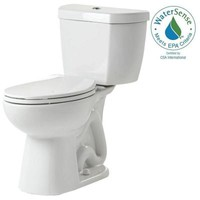 Niagara 2-piece 0.8 GPF Ultra-High-Efficiency Single Flush Elongated Toilet Featuring Stealth Technology in White-77000WHAI1/N7714 N7717 - The Home Depot