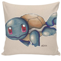 Squirtle Couch Pillow