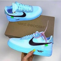 Nike Air Force 1 Off White Ow Casual Shoes