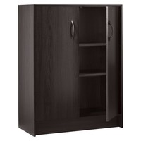 2-Door Organizer Cabinet - Espresso - Room Essentials™