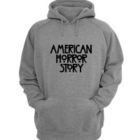 american horror story Hoodie Sweatshirt Sweater Shirt Gray for Unisex size with variant colour