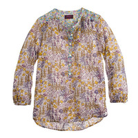 J.Crew Womens Popover In Liberty Mixed Floral