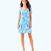 Jessica Short Sleeve Dress | 25974-lightlilacverbenaaboattime | Lilly Pulitzer