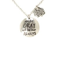 The Fault In Our Stars Okay Always Cloud Necklace
