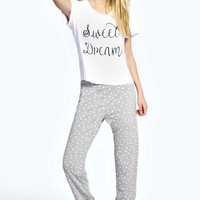 Luisa Sweet Dream T-Shirt And Jog Set