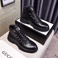 Gucci  Men Casual Shoes Boots  fashionable casual leather