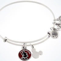 Disney Alex and Ani Parks It All Started With A Mouse Charm Bangle Silver New Tags