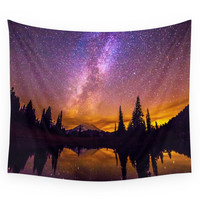 Society6 Milky Way Wall Tapestry