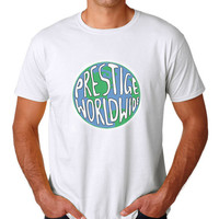 Prestige Worldwide T-Shirt White - Step Brothers - Boats And Hoes - Funny!