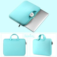 NEW Soft Laptop Sleeve Notebook Cover Case Pouch Handbag for Macbook Air size 121315