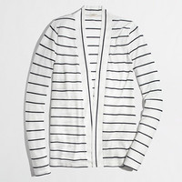 Factory always cardigan in stripe - sweatshirts & cardigans - FactoryWomen's Knits & Tees - J.Crew Factory