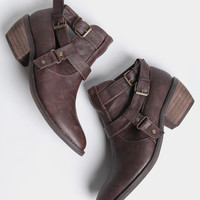 Jack Strapped Ankle Boots