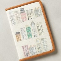 Streetscape Passport Holder by Anthropologie Cream One Size Clutches