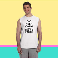 Keep calm call the Police Sleeveless T-shirt