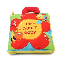 Flowers Baby Toys Infant Kids Early Development Cloth Books Learning Education Toys Creative Gifts Books