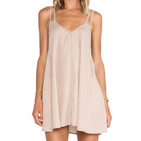 BLQ Basics Tank Dress in Tan