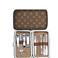 LV Nail clipper  Louis Vuitton Small Monogram Coffee Easy To Carry Suit Combination
