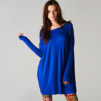 Woman's Fall Fashion Oversized Tunic Dress