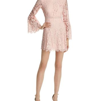 Do and Be Lace Bell Sleeve Dress | Bloomingdales's