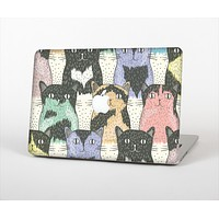 The Vintage Cat portrait Skin Set for the Apple MacBook Air 13""