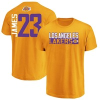 Los Angeles Lakers Lebron James Premium Jersey Tee