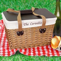 Personalized Picnic Basket