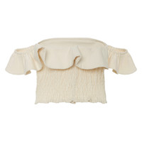 Florian Ruffled Off-The-Shoulder Cotton Top | Moda Operandi