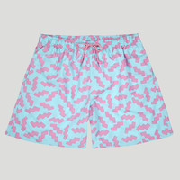 Boardies Mid Length Squiggles Boardshorts