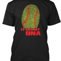 ITS IN MY DNA Softball T Shirts