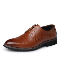 Leather Oxfords - 3 Colors