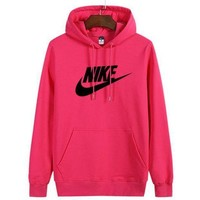 Nike Women Man Fashion Print Sport Casual Top Sweater Pullover Hoodie-1