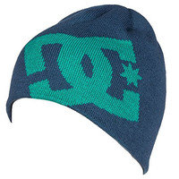 DC Shoes Men's Big Star Beanie Blue