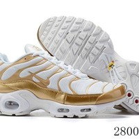 Hcxx 19July 1186 Nike Air Max Plus QS 605112-054 Retro Sports Flyknit Running Shoes