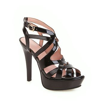 Women's High Heels Platform Chunky Heel Sandals