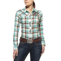 Cybil Fitted Snap Shirt