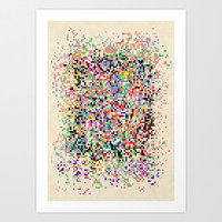 sth changes Art Print by SpinL