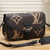 Louis Vuitton LV Women Fashion Leather Crossbody Satchel