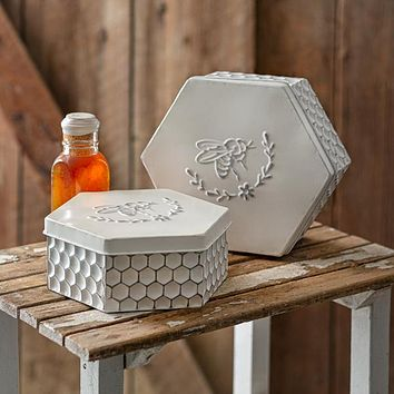 Set of 2 Bee Boxes