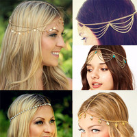 Multi layer Gypsy Headpiece - Various Styles Available!
