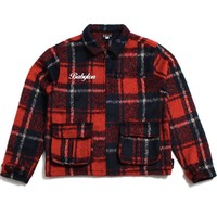 Plaid Jacket Red